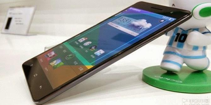 Oppo R3 - Xperia T3 - LTE Smartphone - tech news - gadget - slimmest smartphone - slim