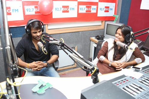 Sai Dharam Tej at 92.7 Big FM Photos and Stills