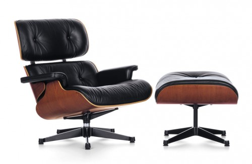Think furniture As seen on TV Vitra Eames Lounge Chair and Ottoman in film
