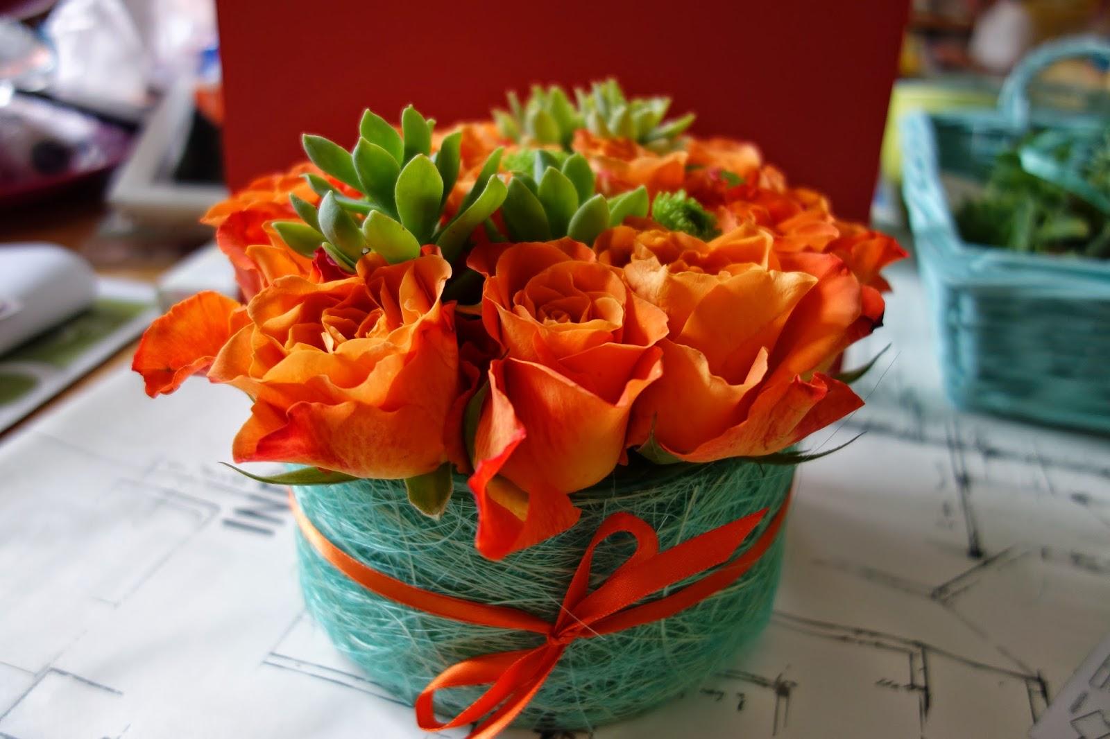Diy un centre de table fleuri initiales gg - Fleur commencant par t ...