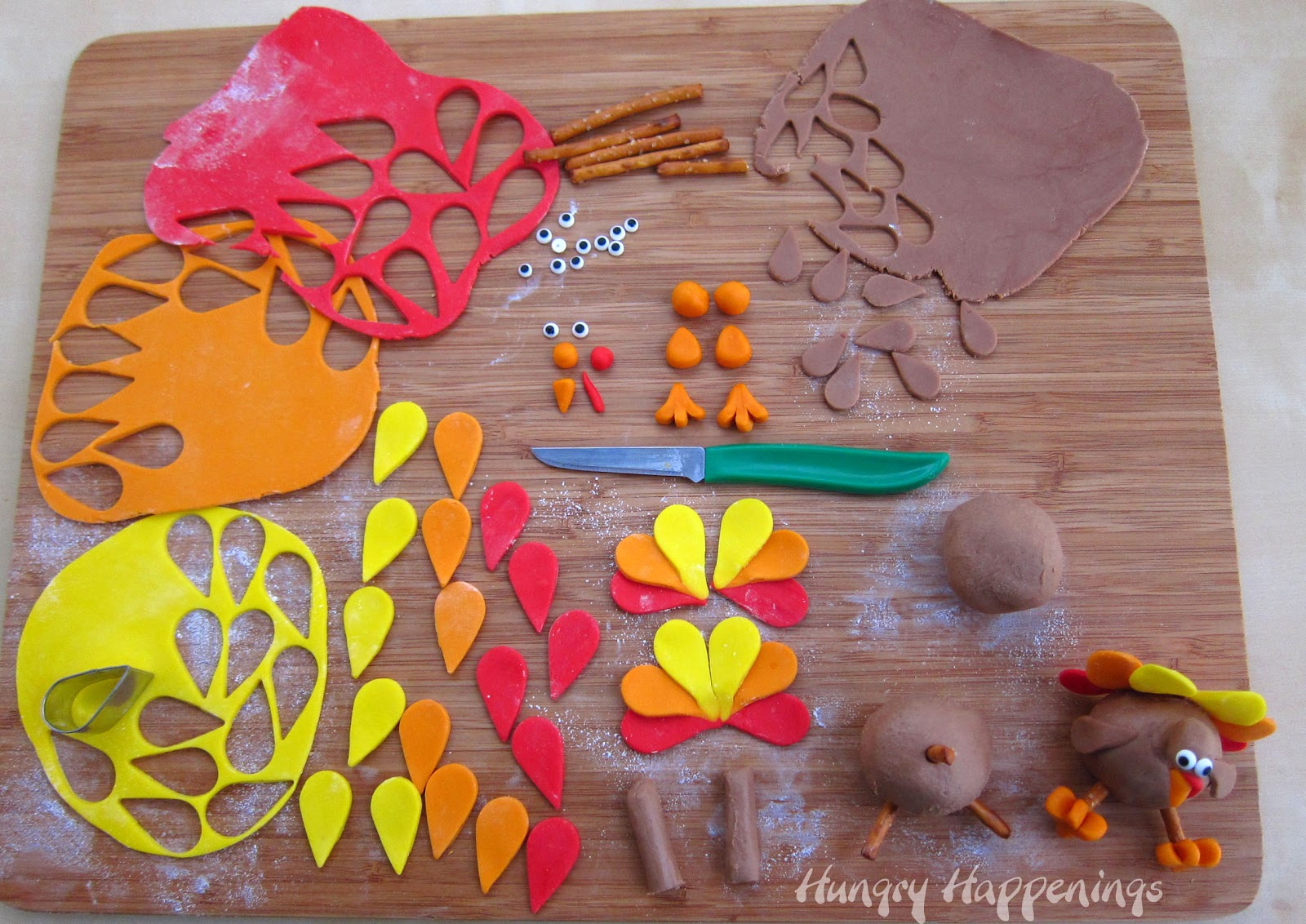 Thanksgiving Decorations Made With Candy : � pinterest�