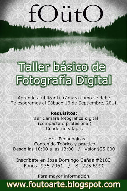 Taller Basico Fotografia Digital