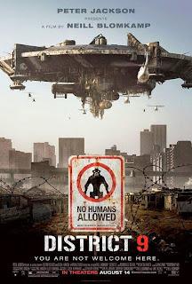Poster de Distrito 9 (District 9)