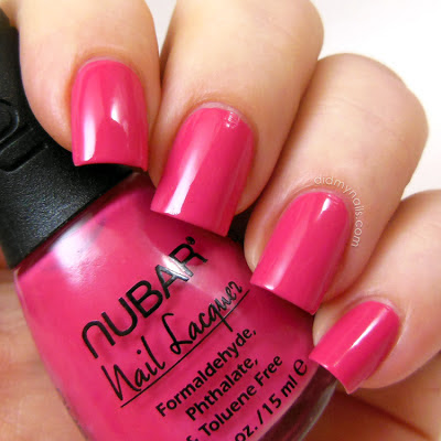 Nubar Rouge swatch
