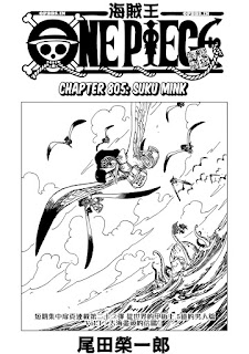 Cover One Piece chapter 805