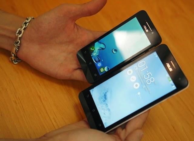 So sánh Zenfon 5 và Zenfone 4.
