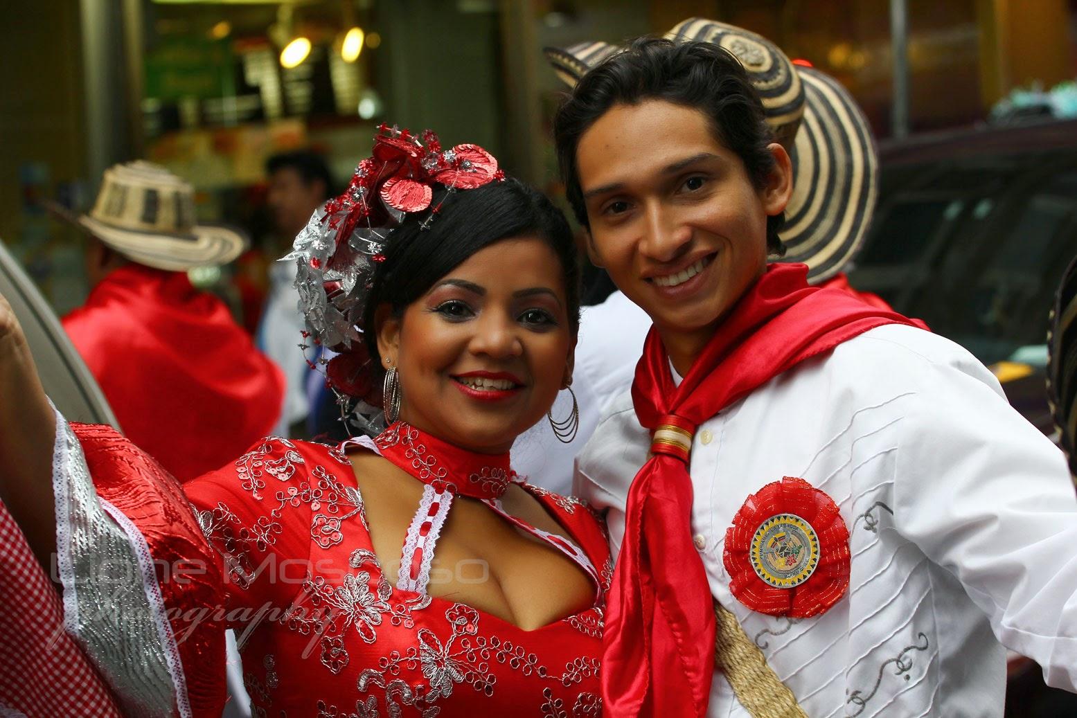 Desfile colombiano de Manhattan, Nueva York USA