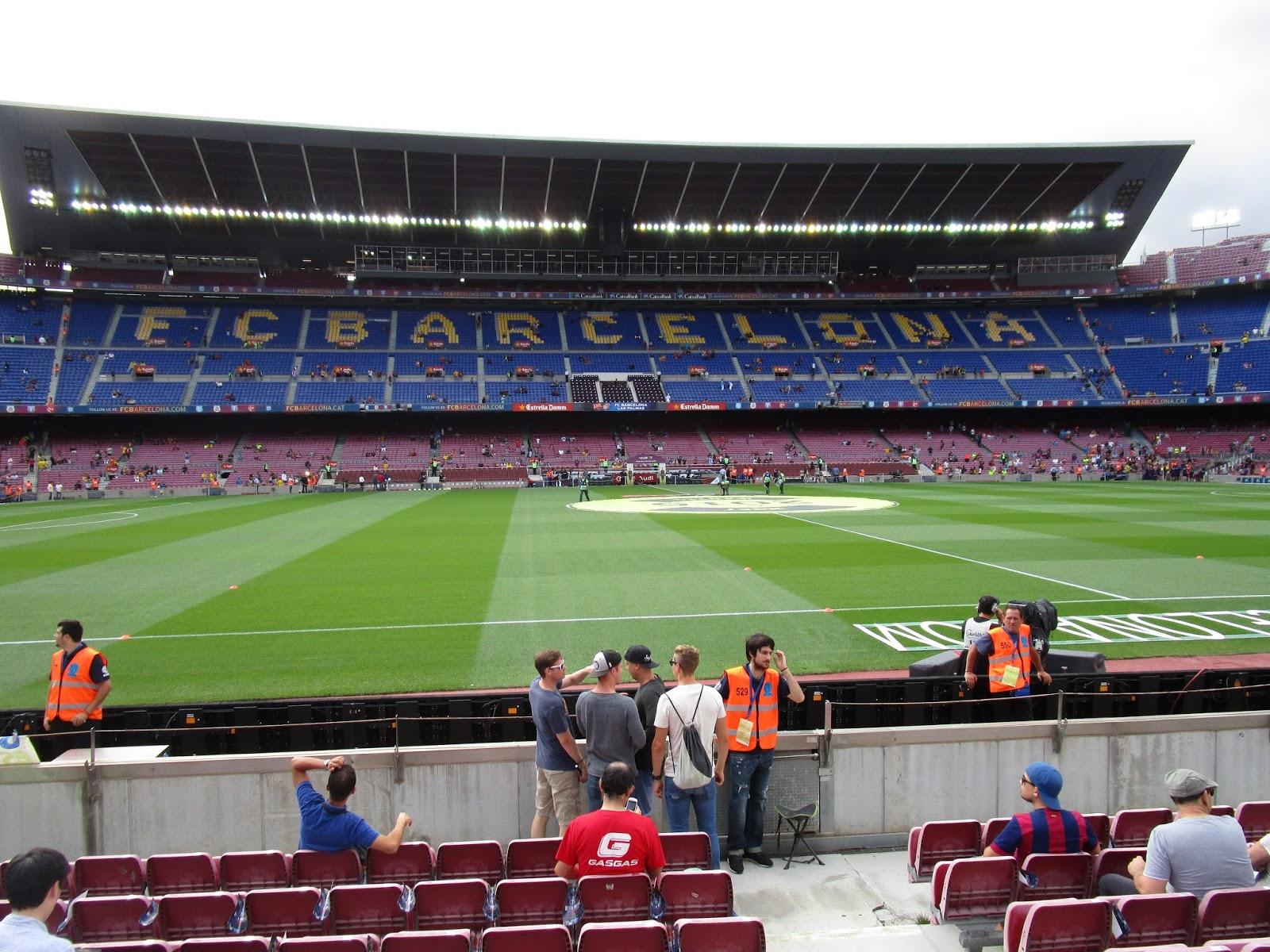 spretnak the blog: fc barcelona game at camp nou