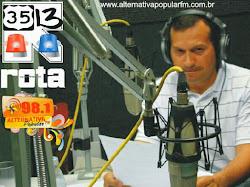 FERREIRA SANTOS. REPÓRTER COMUNITÁRIO RADIO ALTERNATIVA POPULAR 98.1. SOBRADINHO II. EM BREVE.