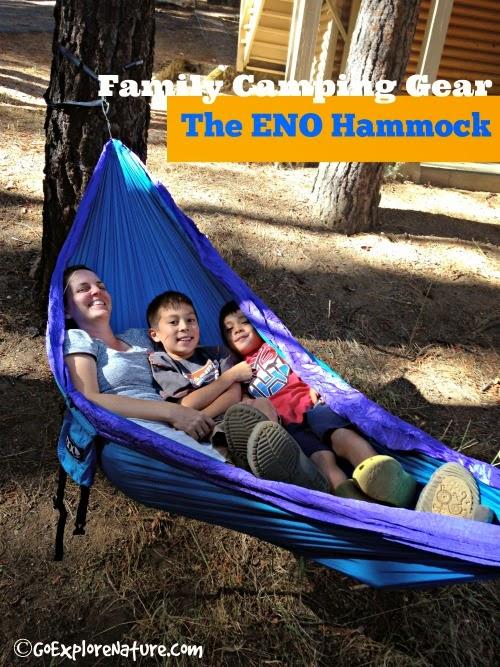 Family Camping Gear: The ENO Hammock
