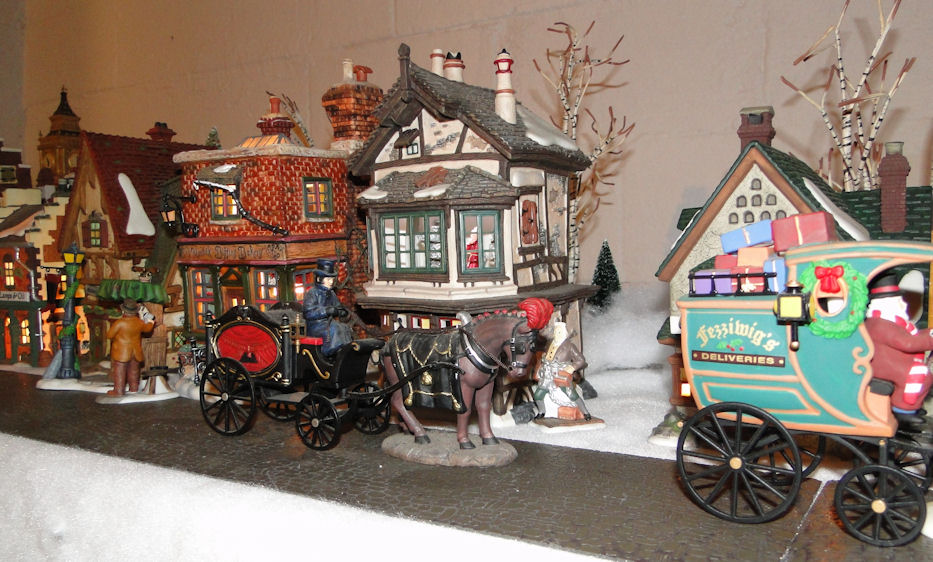 Passion for the Past: My Dept. 56 Dickens Village Display for 2011