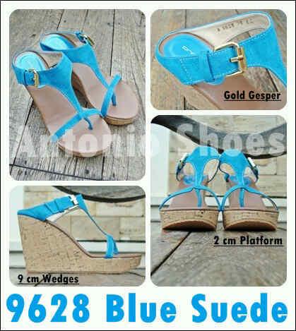 Aneka model sepatu sandal wanita murah,Model sandal wanita terbaru model Blue Suede