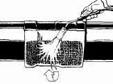 Heat circumferentially aound pipe