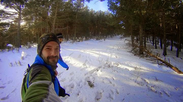 Recomendaciones trail running nieve. Abantos
