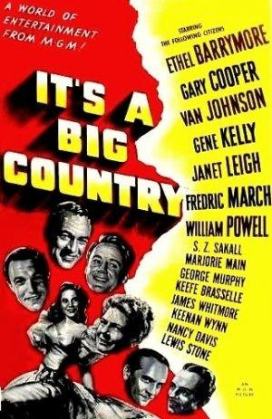 It's a Big Country (1951) El cultural de Jorge Cano Biograf as de cine Gary Cooper 300x463 Movie-index.com