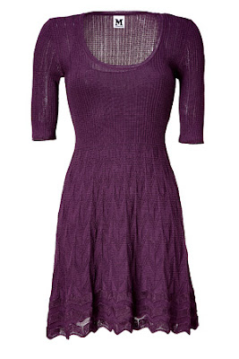 Aubergine Knitted Dress