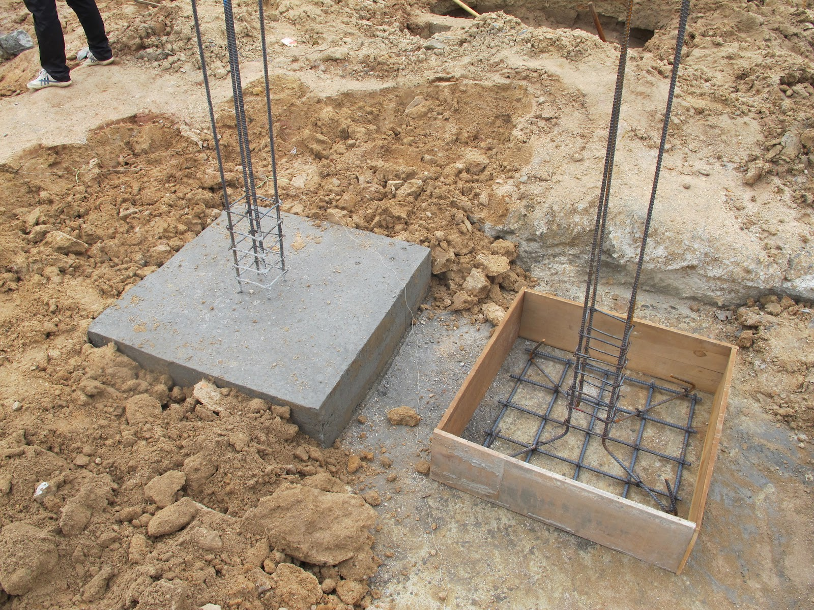 Komitu casting the concrete footings for Which cement is best for foundation