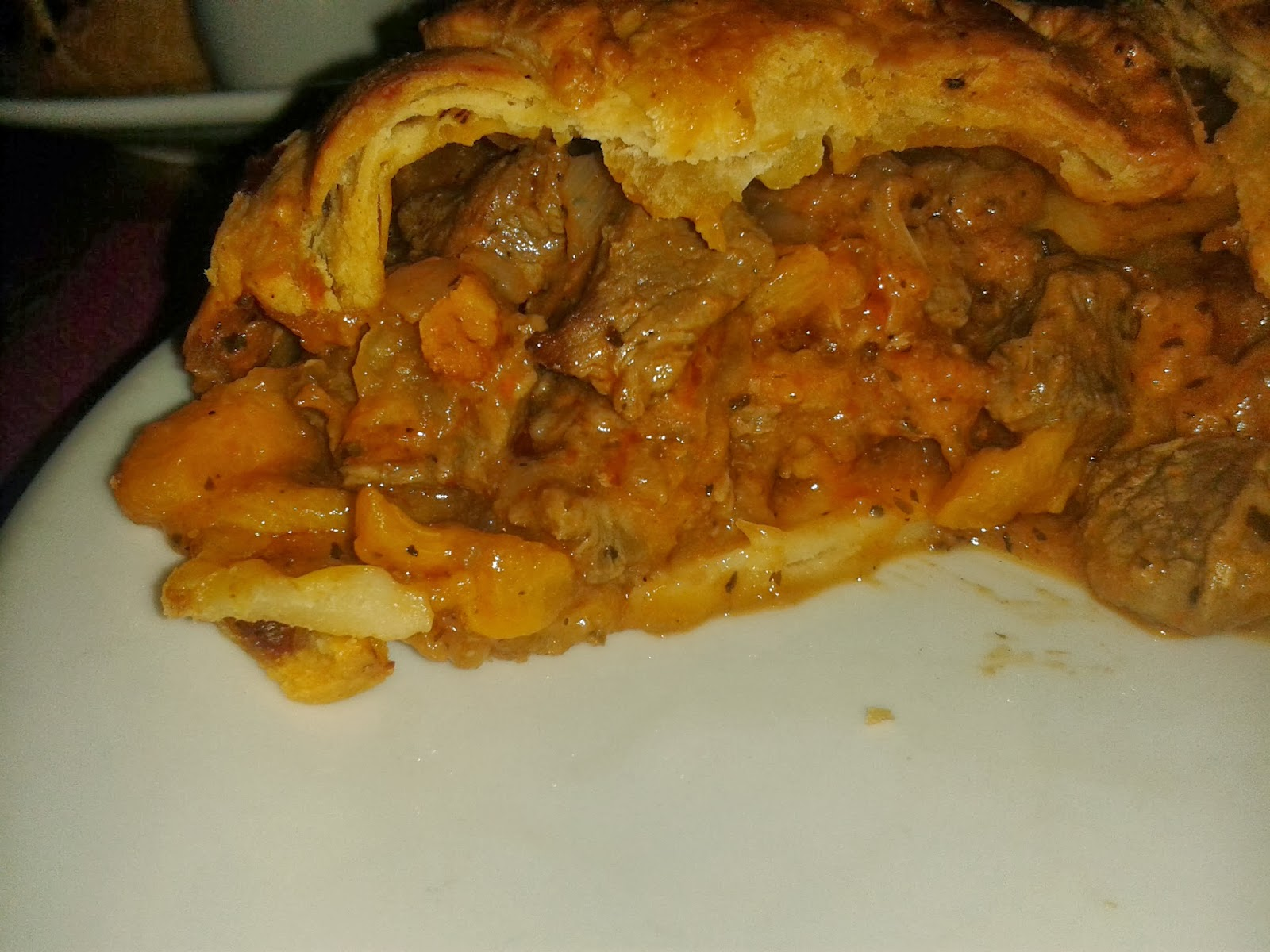 Porters Lamb and Apricot Pie