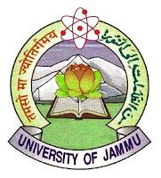 Jammu University Date Sheet