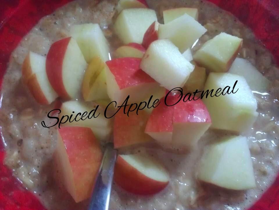 tastey tuesday, tasty tuesday, healthy recipes, clean eating recipes, healthy eating, clean eating, oatmeal, spiced apple oatmeal