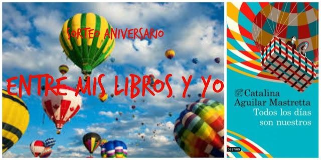 """Sorteo """"Entre mis libros y yo"""""""