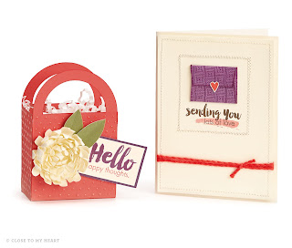 CTMH Sangria Treat Bag and Card