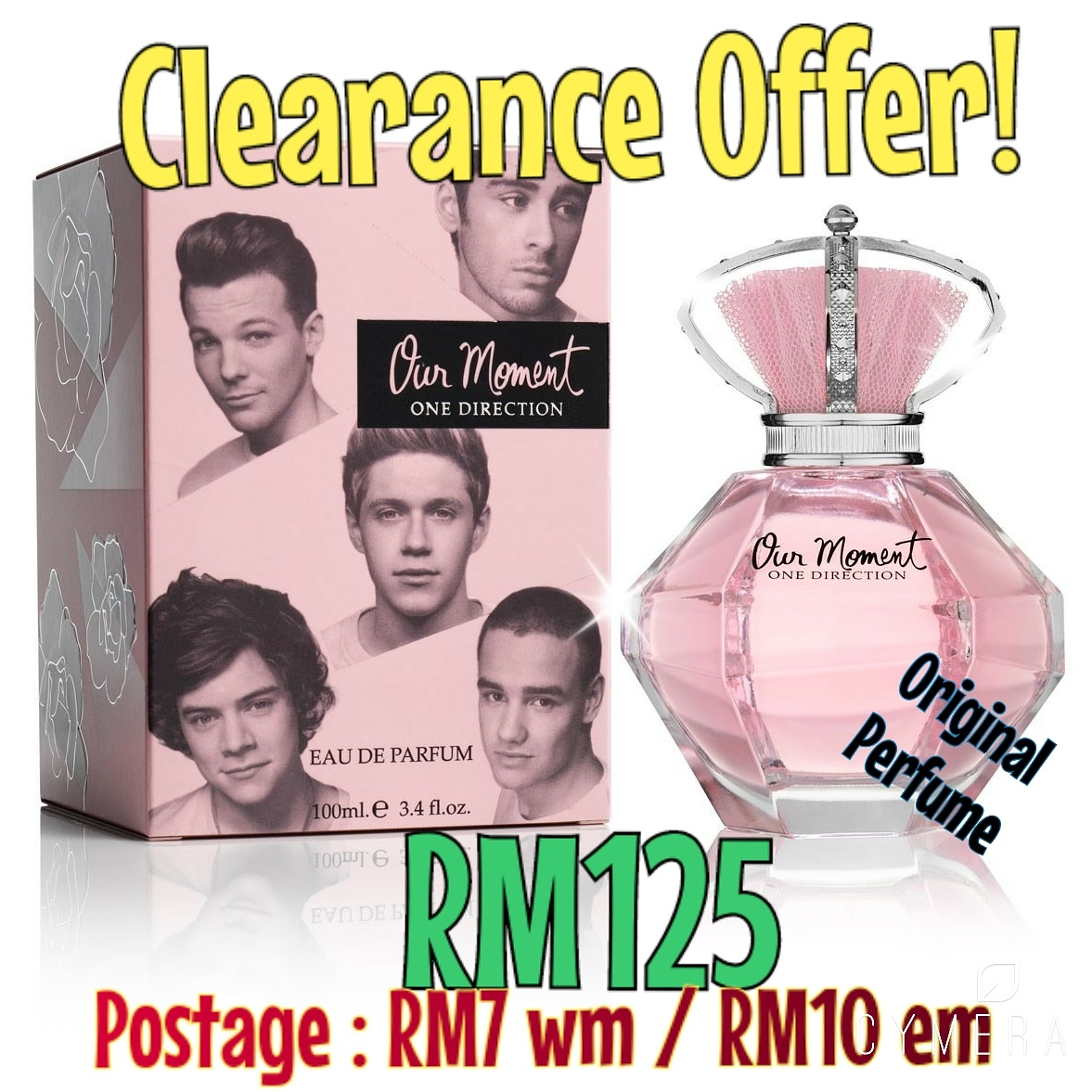CLEARANCE SALE : RM125 ONLY EXCLUDE POSTAGE