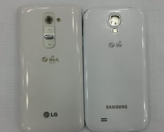 Picture comparison between G2 Optimus and Galaxy S4.