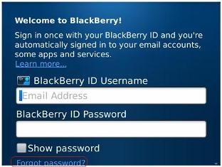 Tips Mengatasi Lupa Pasword Blackberry