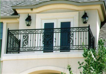 New home designs latest modern homes iron grill balcony for Luxury balcony design