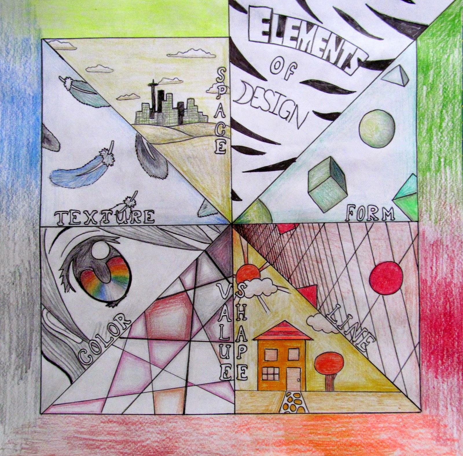 Ms. Eaton's Phileonia Artonian: Elements of Art Radial Review