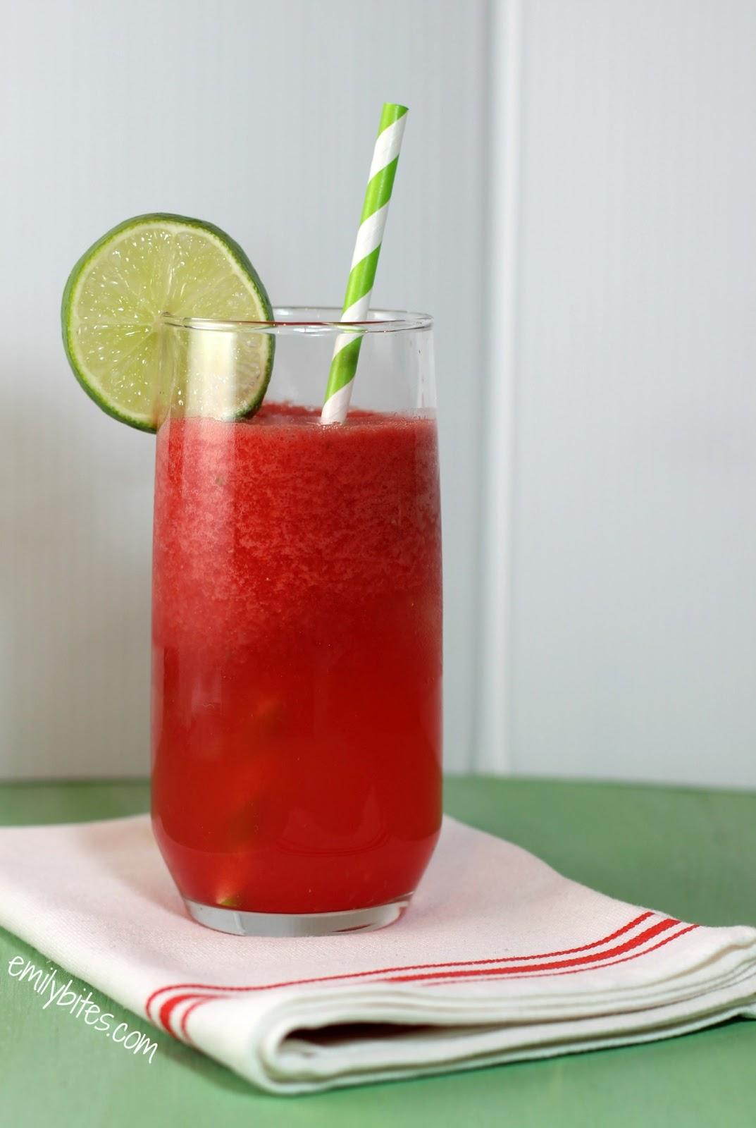 Watermelon Agua Fresca - Emily Bites
