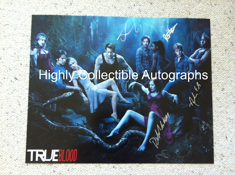Highly Collectible Autographs: True Blood season 5 premiere