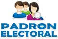PADRON ELECTORAL 2015
