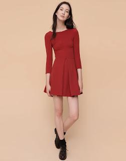 Foto de Vestido rojo Pull & Bear Antes 19,99 eur – Ahora 15,99 eur