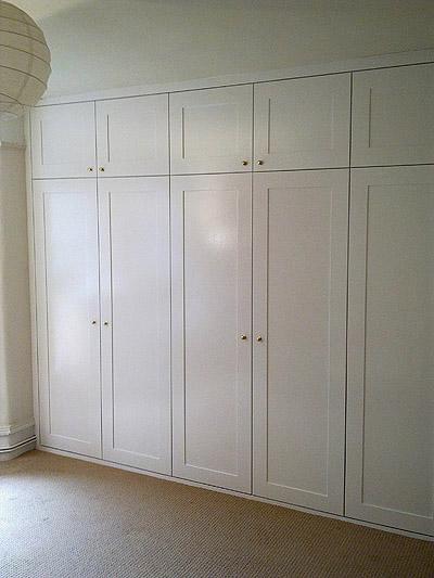 Guarda Roupa Branco Embutido Wood And Design