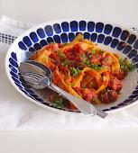 Chorizo-pasta