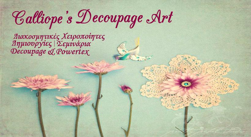 Calliope's Decoupage Art