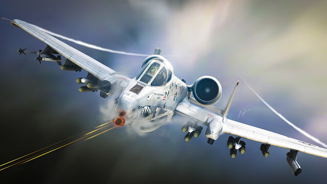 A10 Tankbuster Aircraft