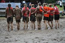 Mud Soccer Girls