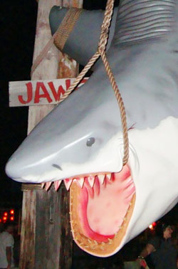 Jaws is all hung up