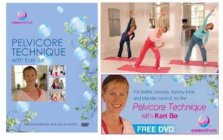 Brinde Gratis  DVD  Pelvicore Technique