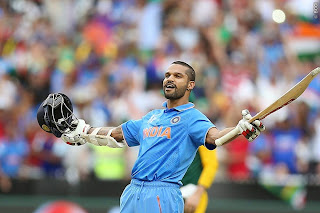 Shikhar Dhawan century in India vs South Africa