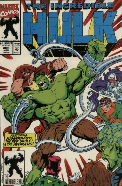 """Hero Envy"" The Blog Adventures: HULK VS JUGGERNAUT"