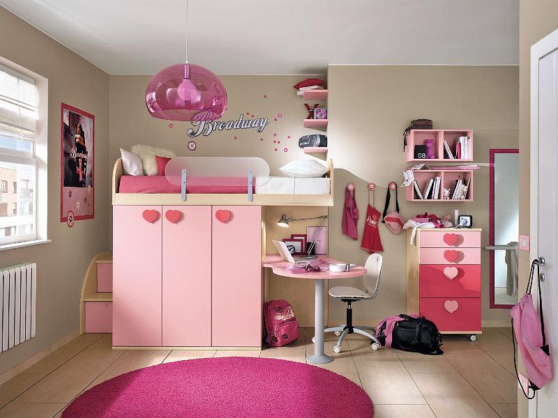 10 modernos dormitorios colombini para chicas ideas for Paginas para disenar habitaciones