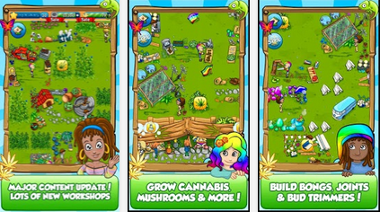 HIGHTECHHOLIC App Review Weed Garden Grow Cannabis
