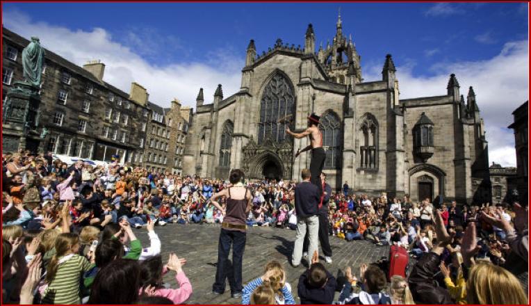 Win a trip to the Edinburgh Festival!   Poppy Loves ...