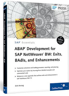 ABAP Development for SAP NetWeaver BW - Customer-specific enhancements (SAP PRESS)