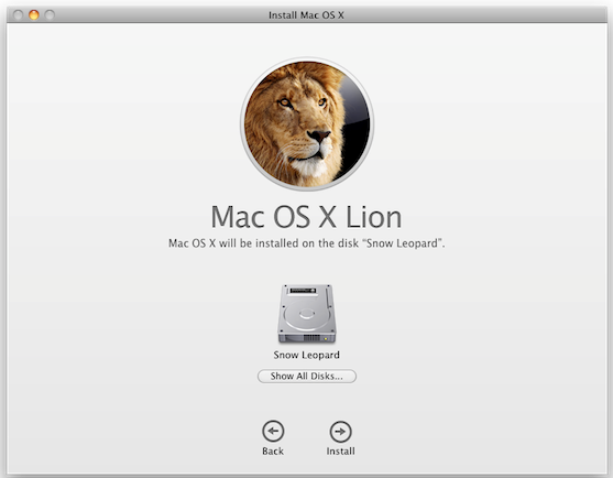 how to install mac os on new hard drive