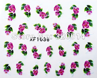 Nail Water Decal XF 1036